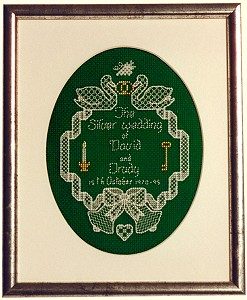 Picture of Silver Wedding Sampler
